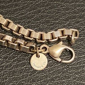 Authentic Tiffany & Co. Box Link Bracelet